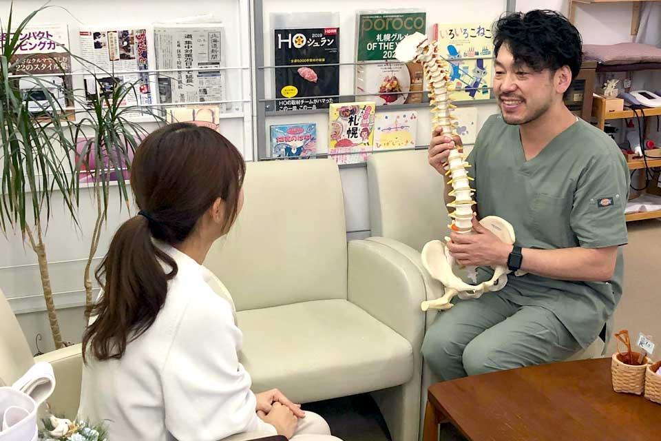 患者さまの症状に合わせた、納得して頂けるプランをご提案