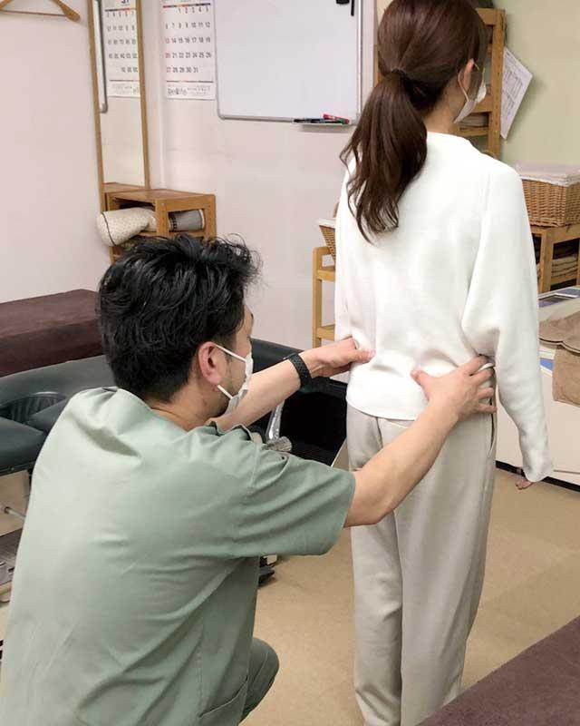 姿勢分析・筋力テスト