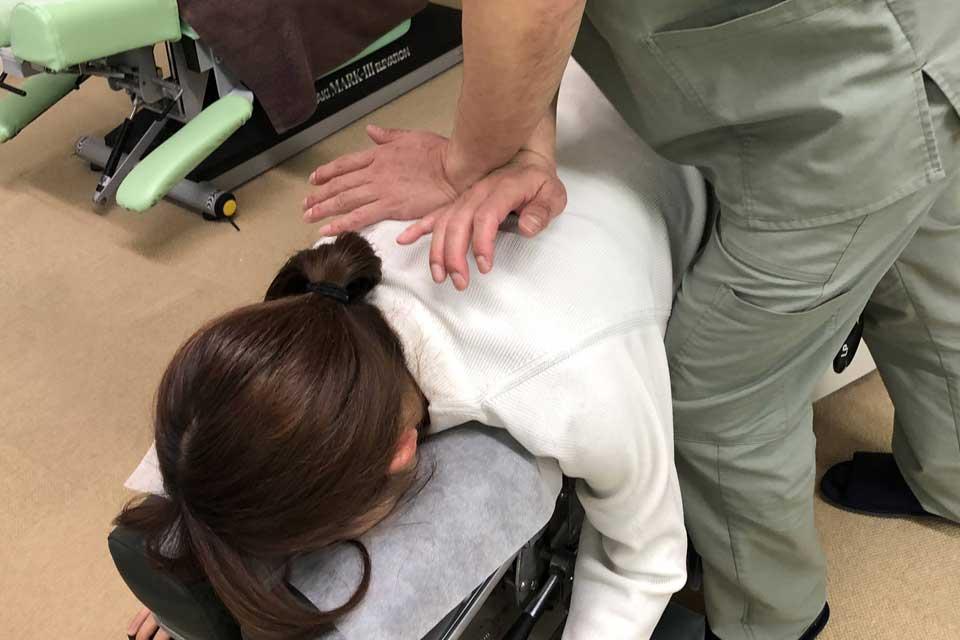 筋拘縮による呼吸機能低下